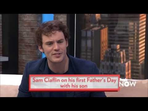 sam claflin about his son