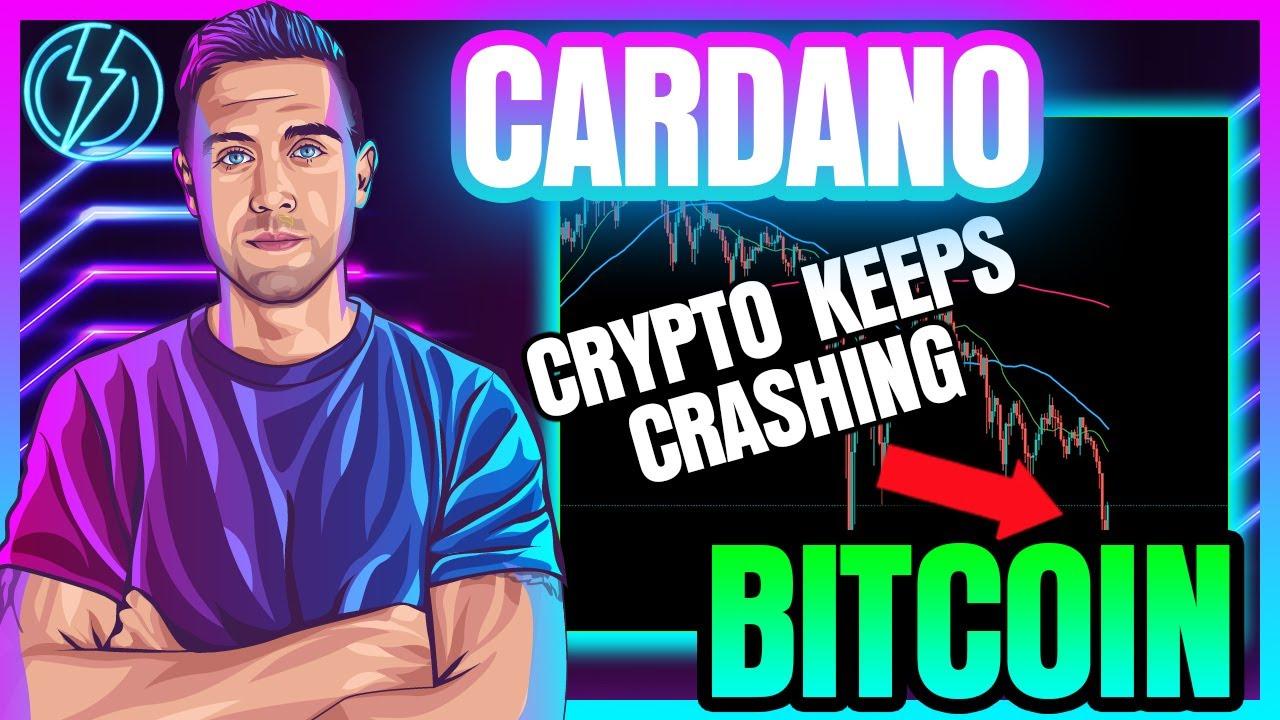 CRYPTO CRASHES MORE! CAN BITCOIN & CARDANO RECOVER?