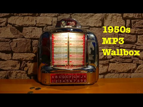 1950s MP3 Player Wallbox