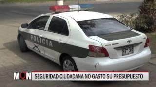 08/10/2015-19:34 SEGURIDAD CIUDADANA NO GASTO SU PRESUPUESTO