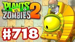 Ancient Egypt Entanglement! Epic Quest! - Plants vs. Zombies 2 - Gameplay Walkthrough Part 718