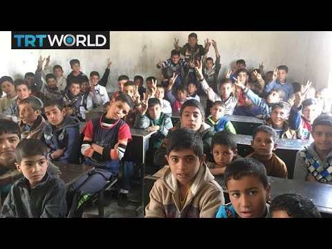 Mosul After Daesh: Kids go back to school in damaged classrooms