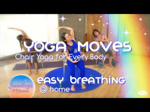 Gentle Chair Yoga ~ Breathe easy!