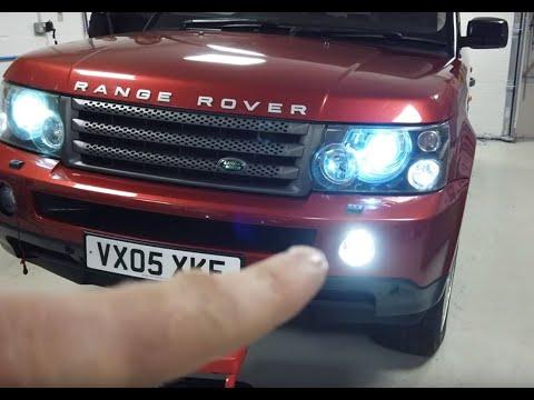 Range Rover Sport LED + DRL Fog Lamp Light Upgrade