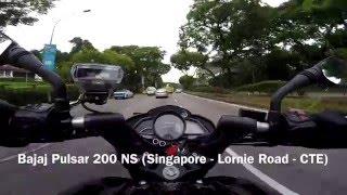 #3 - Bajaj Pulsar 200 NS (Singapore - Lornie Road - CTE)