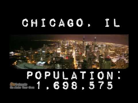 The Largest Cities in the US-1790-2010 census