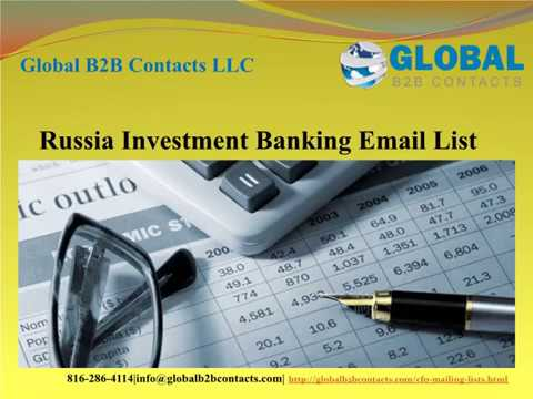 Russia Investment Banking Email list