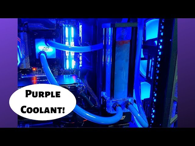 How to Dye Your Coolant - Swiftech Boreas RGB Lighting - Watercooling Loop