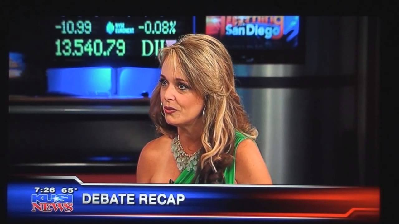 KUSI commentary by Dr Gina Loudon on October 16th debate