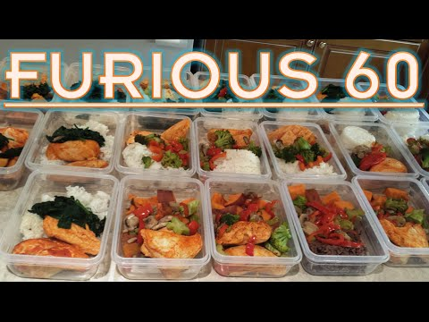 Nutrition / Meal Preparation   Furious 60   Week 2