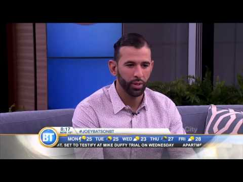 Jose Bautista chats about The Bautista Family Education Fund and Jays Care