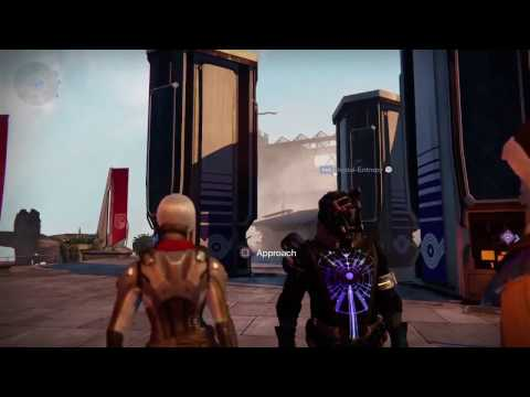 Destiny - What Goes On When You Are In The Market Menus
