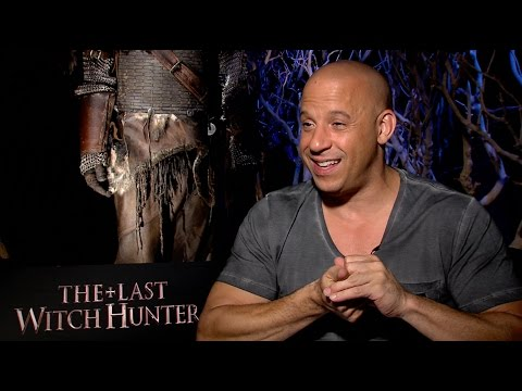 Vin Diesel Talks The Last Witch Hunter, the Movie's Franchise Potential and More