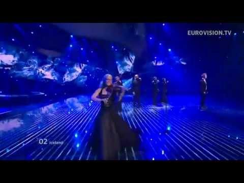 """ESC 2012 Iceland: Gréta Salóme & Jónsi """"Never Forget"""" (SEMIFINAL 1)"""