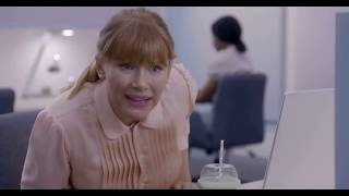 Black Mirror - Lacie Rates Coworker - Social Credit System (Nosedive S3E1)