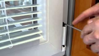 Nastavenie výšky krídla okna (zdvihnutie) / Lifting of window casement