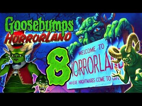 Goosebumps HorrorLand Walkthrough Part 8 (PS2, Wii) ☣ No Commentary ☣