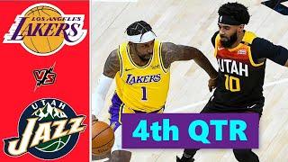 Los Angeles Lakers vs. Utah Jazz Full Highlights 4th Quarter | NBA Season 2021
