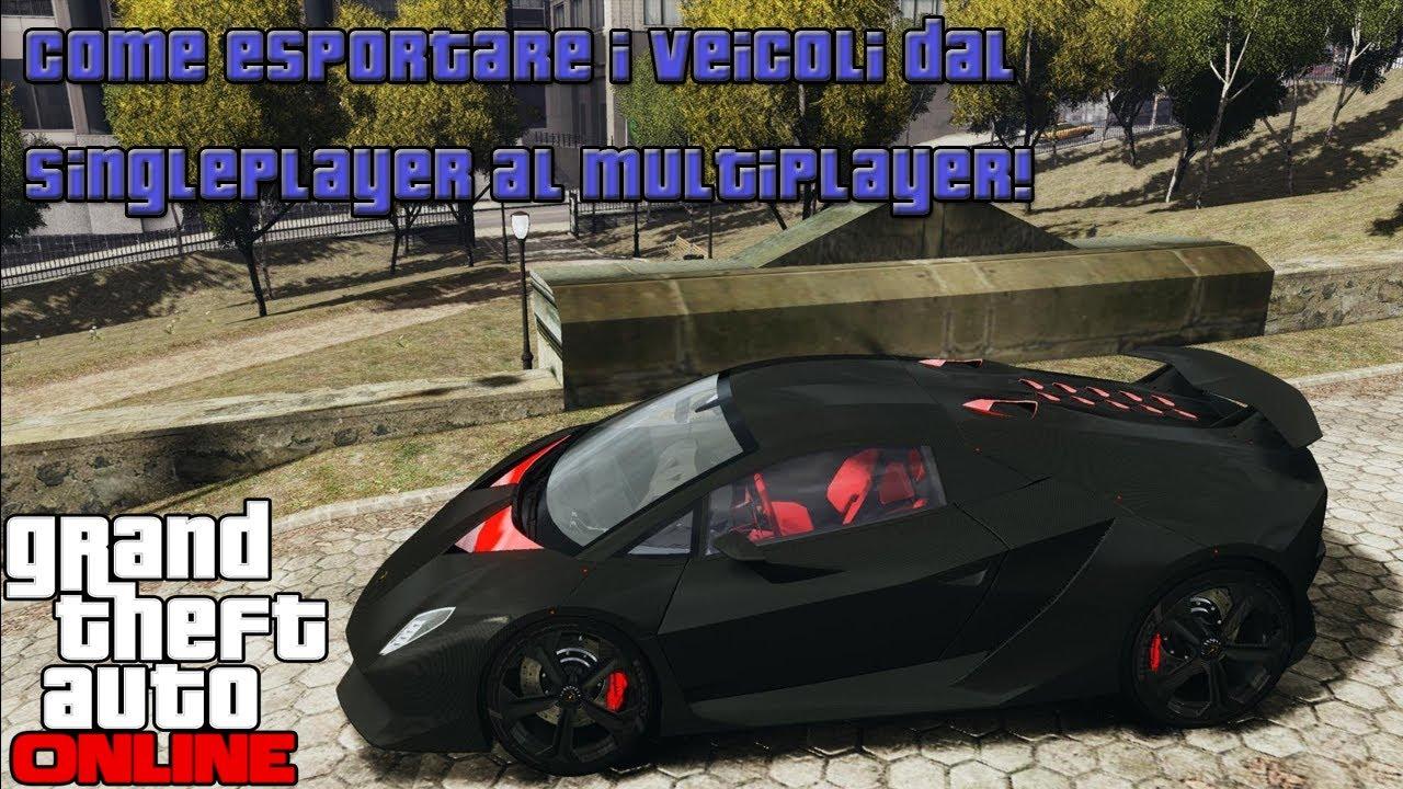 Gta online come avere veicoli del singleplayer nel for Progettista di garage online