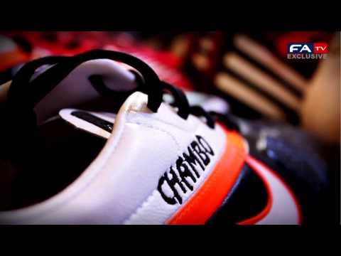 England kit room - Euro 2012   FATV
