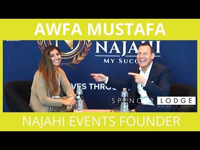 Awfa Mustafa - The Story Behind Najahi Events