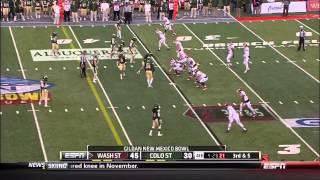 2013 New Mexico Bowl Colorado State vs Washington State 2nd Half 720p