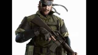 MGS Peace Walker: Snake Eater -piano instrumental-