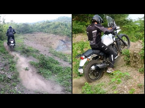On offroad hillclimbs  | With RE himalayan