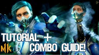 Frost Mortal Kombat 11 Beginner Character Guide and Combo Tutorial! [Ice Machine Variation]