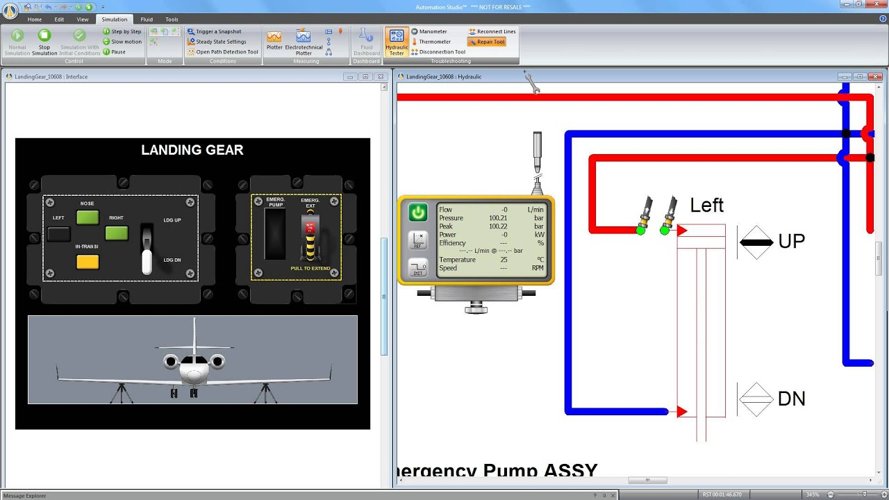 Hydraulic & Electrical Troubleshooting with Automation Studio P6