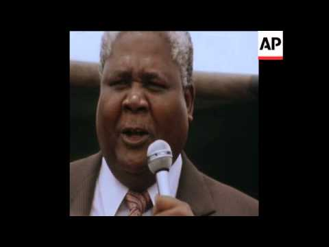CUTS 28 10 80 JOSHUA NKOMO SPEAKING AT A RALLY IN HARARE