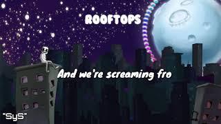 Marshmello Rooftops (Lyric )