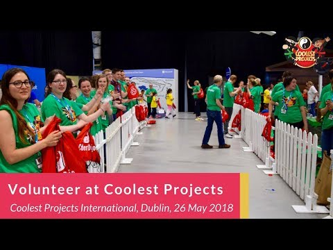 Help us by Volunteering at Coolest Projects International 2018!