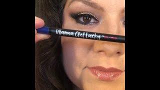 Wanna Get Lucky Gel Eyeliner Wear Test
