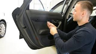 Audi A6 C6 door panel Removal