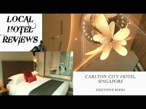 LHR-Carlton City Hotel, Singapore-Executive Room @ S$200++