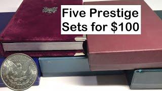 1986 US Mint Prestige Proof Set