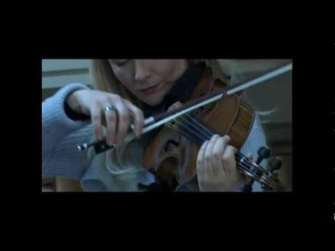 """1/2 ANNA SEROVA (Viola Amati """"La Stauffer 1615"""") and Filippo Faes in """"Fero Dolore"""" by Azio Corghi"""