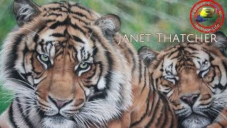 Amazing art show with Janet Thatcher on Colour In Your Life featuring her lifelike pastels