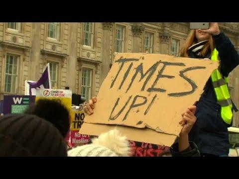euronews (en español): Fin de semana de protestas contra Trump y por los derechos de las mujeres