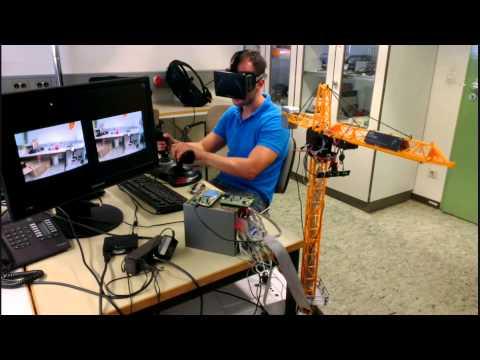 Oculus Rift telepresence Crane