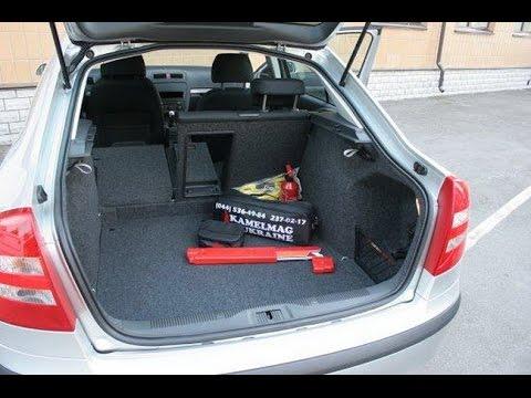 skoda octavia багажник