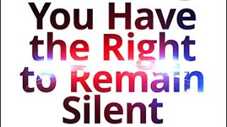 The Vortex — You Have the Right to Remain Silent