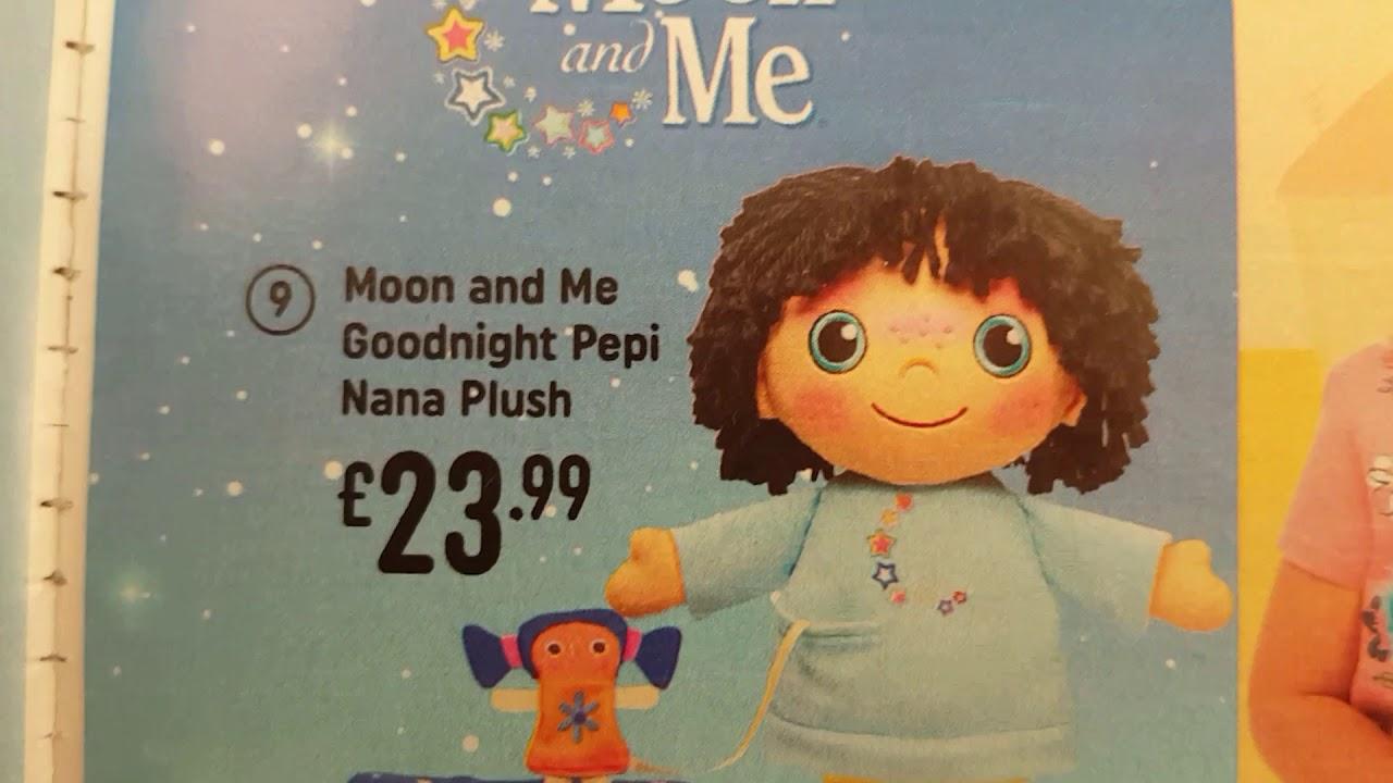 Moon and Me Goodnight Pepi Nana Plush with Sounds *BRAND NEW*