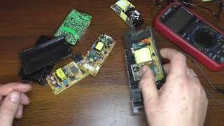 зарядка для шуруповерта из блока питания от принтера
