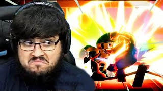 INSANE Online Luigi Player Destroys Me In Super Smash Bros. Ultimate