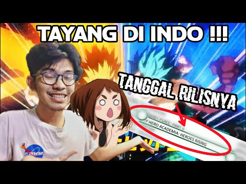 BNHA The Movie 2 Rilis Di Indo !!!