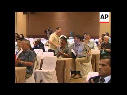 Bali climate summit delegates reax to Gore