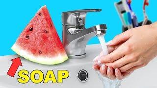 10 Cool DIY Soap Ideas