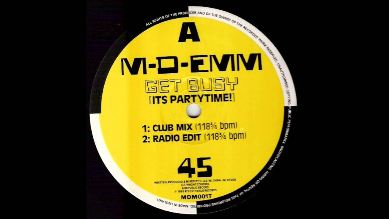 M-D-Emm - Get Busy (It's Partytime)